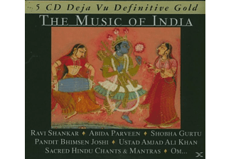 VARIOUS - The Music Of India - Definitive Gold - (CD)
