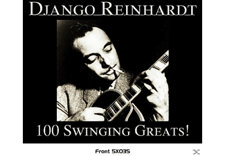 Django Reinhardt - 100 Swinging GreatsDEFINITIVE GOLD SERIES - (CD)