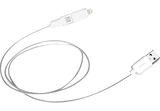 SBS MOBILE Lightning/MicroUSB till USB