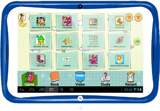 NAVITECH Neotab KID742 7 inç IPS Ekran 1 GB 8 GB Android Tablet PC Mavi