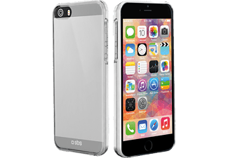 SBS MOBILE Crystal Case för iPhone 5/5s - Transparant