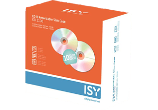 ISY ICD-1100 CD-R 10er Slimcase CD-R