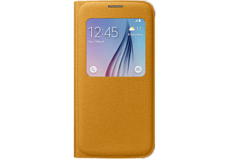 SAMSUNG S View Cover Canvas Galaxy S6 Geel
