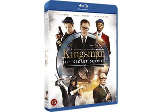 Kingsman the Secret Service Action Blu-ray