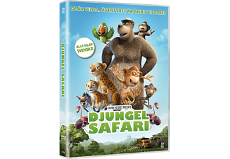 Djungelsafari Barn DVD