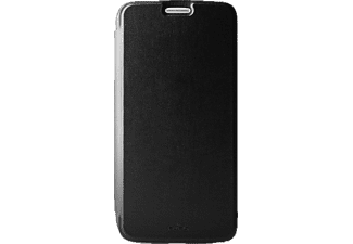 PURO PU-140617, Bookcover, Galaxy S6, Transparent/Schwarz