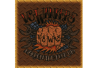 V8 Wankers - Harden The Fuck Up - (CD)