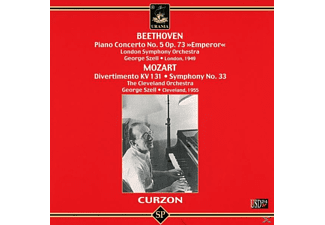 London Symho Clifford Curzon Piano - Curzon und Szell - (CD)