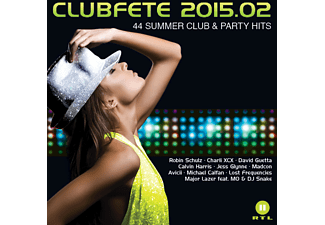 VARIOUS - Clubfete 2015.02 - 44 Summer Club & Party Hits - (CD)