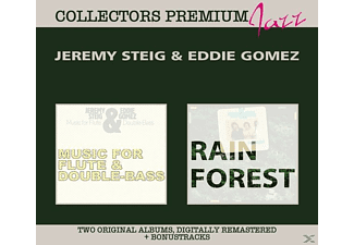 Jeremy Steig / Eddie Gomez - Music For Flute & Double Bass & Rain Forest-Deluxe - (CD)