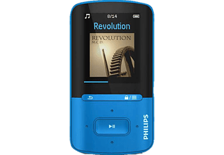 PHILIPS Lecteur MP4 4 GB bleu (SA4VBE04BN/12)