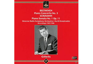Moscow Radio Symphony Emil Gilels - Gilels spielt Beethoven und Schumann - (CD)