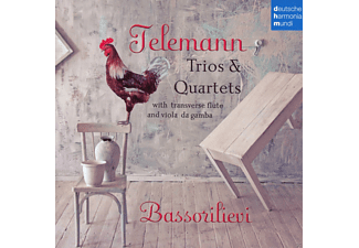 Ensemble Bassorilievi - Trios & Quartets - (CD)