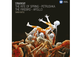 Simon Rattle, City Of Birmingham Symphony Orchestra - Ballet Edition: The Stravinsky Ballets [CD]
