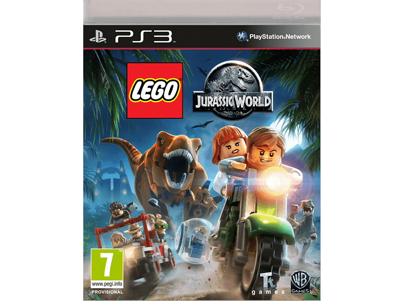 Lego Jurassic World PlayStation 3 gaming games ps3 games