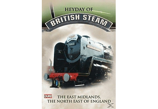 Heyday Of British Steam - East Midl - (DVD)