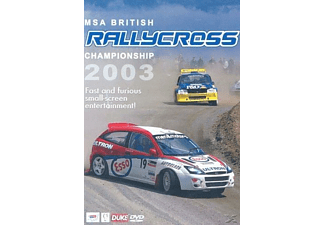 British Rallycross Review 2003 - (DVD)