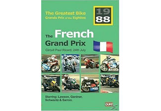 Great Bike Gp Of The 80's - France [DVD]