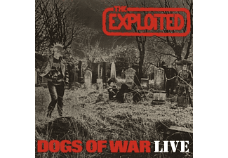 The Exploited - Dogs Of War-Live - (Vinyl)