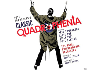Various, Royal Philharmonic Orchestra - Classic Quadrophenia (Deluxe Edt.) - (CD + DVD)