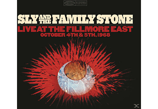 Sly & The Family Stone - Live At The Fillmore East October 4th & 5th 1968 - (CD)