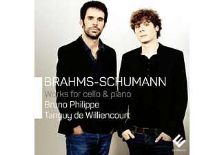De Williencourt Tanguy, Bruno Philippe - Werke Für Cello & Klavier [CD]