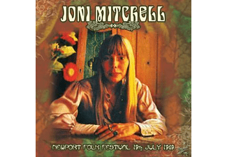 Joni Mitchell - NEWPORT FOLK FESTIVAL 19TH JULY 1969 (180G) - (Vinyl)