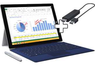 Microsoft Surface Pro 3 I5 256gb Wireless Display