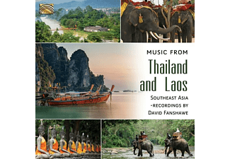 VARIOUS - Music From Thailand And Laos [CD]