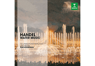 Ton Koopman, The Amsterdam Baroque Orchestra - Handel - Water Music (CD)