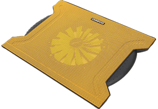 OMEGA Laptop Cooler Pad (Chilly) 1 Fan Yellow - (OMNCP8088Y)