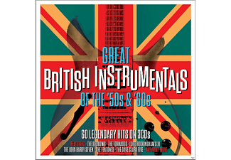 VARIOUS - Great British Instrumentals - (CD)