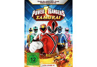 "Power Rangers - Samurai - Vol. 4 - ""The Clash of the Red Rangers"" [DVD]"