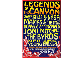 VARIOUS - Legends Of The Canyon - (DVD)