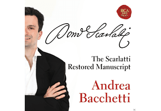 Andrea Bacchetti - THE RESTORED SCARLATTI MANUSCRIPT [CD]