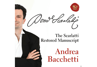 Andrea Bacchetti - THE RESTORED SCARLATTI MANUSCRIPT - (CD)