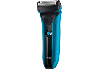 BRAUN WaterFlex WF2s Wet and Dry - Blå Rakapparat