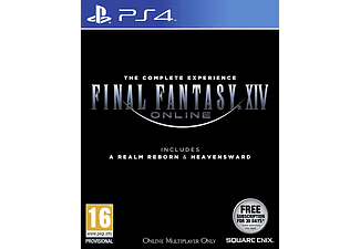 Final Fantasy XIV Online Heavensward & Realm Reborn PS4