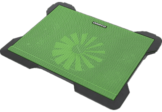 OMEGA Laptop Cooler Pad Cyclone 5 Fans Green - (OMNCP8098G)