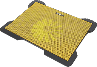 OMEGA Laptop Cooler Pad Cyclone 5 Fans Yellow - (OMNCP8098Y)