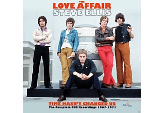 Steve Ellis' Love Affair - Time Has Not Changed Us - Complete Bbc Recordings - (CD)