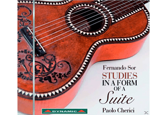 Paolo Cherici, VARIOUS - Studies In The Form Of Suites [CD]