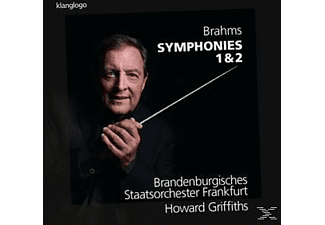 Brandenburgisches Staatsorchester Frafurt, Howard Griffiths - Sinfonien 1+2 - (CD)