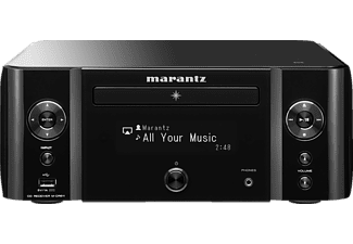 MARANTZ M-CR611 HiFi-Wireless-Audio (2 Kanäle, 60 Watt pro Kanal, Schwarz)
