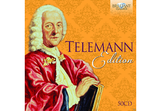 VARIOUS - Telemann Edition - (CD)