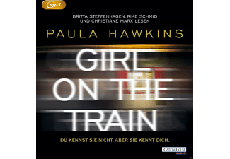 Girl on the Train. Du kennst sie nicht, aber sie kennt dich. - 2 MP3-CD - Krimi/Thriller