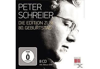 Peter (Tenor) Schreier - 80th Anniversary Edition [CD + DVD]