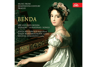 Edita Keglerova, Ivana Bilej Brouková, Helena Zemanova, Hana Flekova, Stryncl - Music From 18th Century Prague-Sonate In F-Dur/+ [CD]