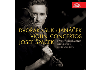 Josef Spacek, The Czech Philharmonic Orchestra - Violinkonzerte (Live-Aufn.) - (CD)