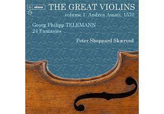 Peter Sheppard-skaerved - Great Violins Vol.1: Andrea Amati 1570 [CD]